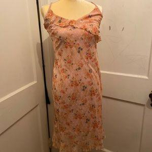 90's style dElia's sheer flower dress 🌸